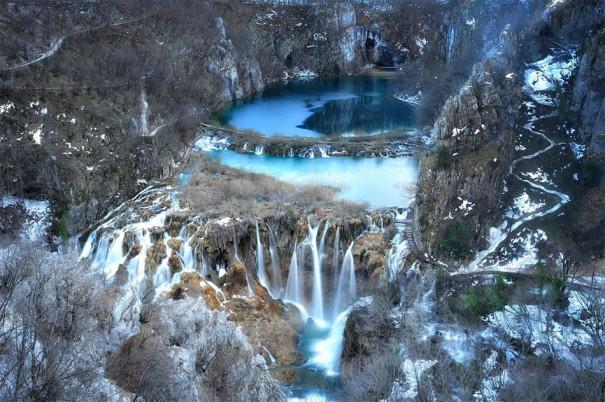 Οι καταρράκτες της λίμνης Plitvice στην Κροατία   Φωτογραφία της ημέρας