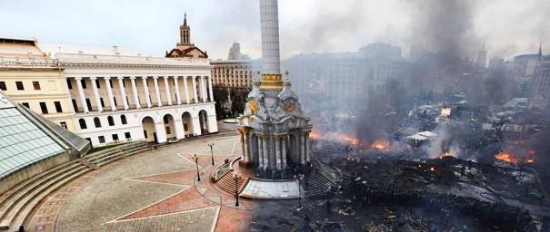 Το Κίεβο πριν και μετά την εξέγερση | Φωτογραφία της ημέρας
