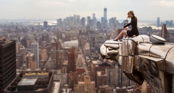 Κοιτάζοντας τον κόσμο από την πλάτη του αετού | Φωτογραφία της ημέρας