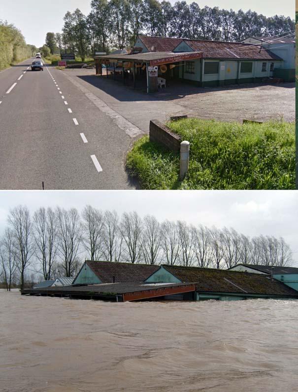 Πριν και μετά τις φονικές πλημμύρες στη Βρετανία (12)