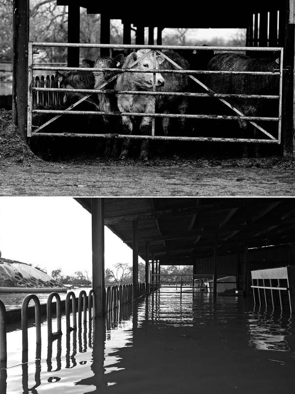 Πριν και μετά τις φονικές πλημμύρες στη Βρετανία (23)