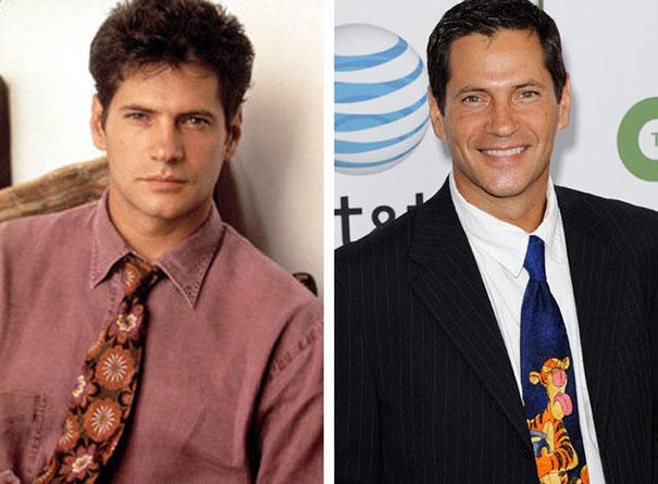 Οι πρωταγωνιστές της σειράς «Λεωφόρο του Melrose» τότε και τώρα (12)