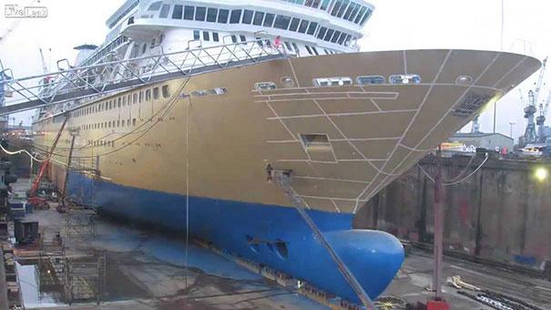 Πως γίνεται η επέκταση σε ένα κρουαζιερόπλοιο