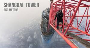 Σκαρφαλώνοντας στο Shanghai Tower ύψους 632 μέτρων (Video)