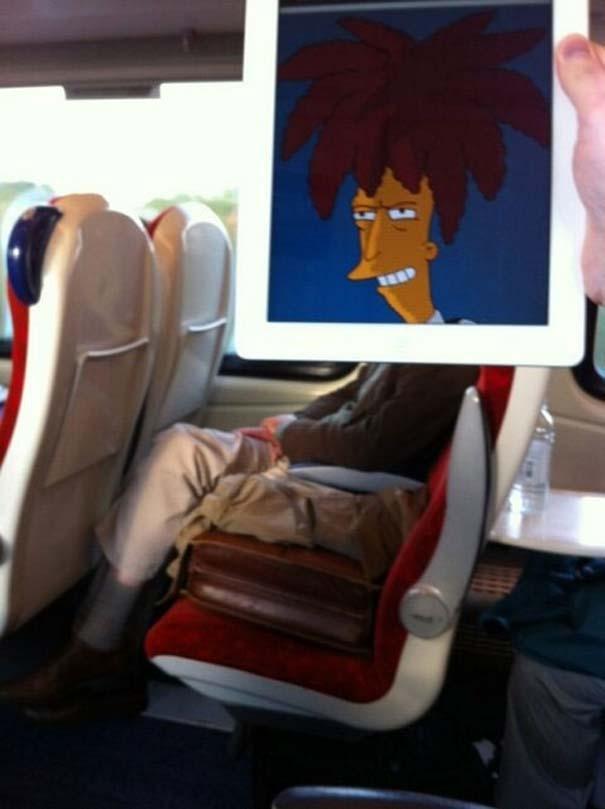 Σκιτσογράφος βρήκε έναν πολύ δημιουργικό τρόπο για να περνάει η ώρα στο τρένο (21)
