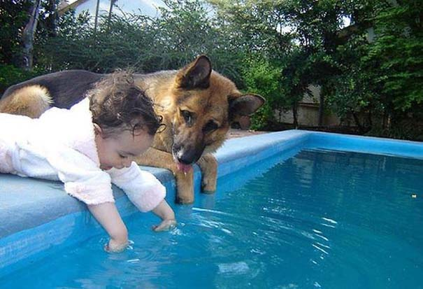 Φωτογραφίες που αποδεικνύουν πως οι σκύλοι είναι οι καλύτεροι φίλοι των παιδιών (5)