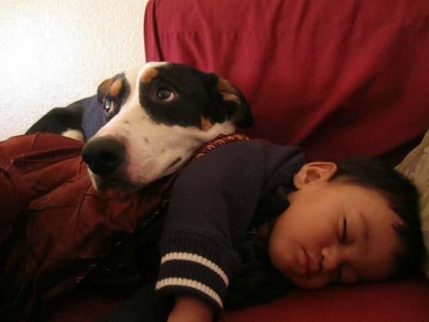 Φωτογραφίες που αποδεικνύουν πως οι σκύλοι είναι οι καλύτεροι φίλοι των παιδιών (10)