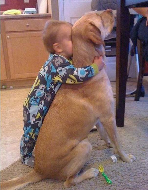Φωτογραφίες που αποδεικνύουν πως οι σκύλοι είναι οι καλύτεροι φίλοι των παιδιών (12)