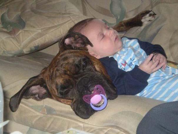 Φωτογραφίες που αποδεικνύουν πως οι σκύλοι είναι οι καλύτεροι φίλοι των παιδιών (19)