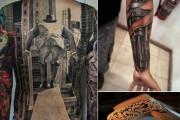 Τατουάζ οφθαλμαπάτες που θα σας αφήσουν με το στόμα ανοιχτό (1)