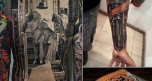 22 τατουάζ οφθαλμαπάτες που θα σας αφήσουν με το στόμα ανοιχτό