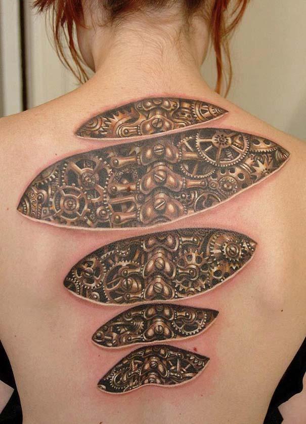 Τατουάζ οφθαλμαπάτες που θα σας αφήσουν με το στόμα ανοιχτό (6)