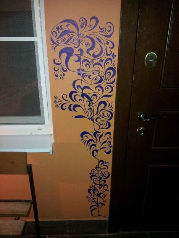 Το παιδί ζωγράφισε στον τοίχο; Κανένα πρόβλημα! (2)