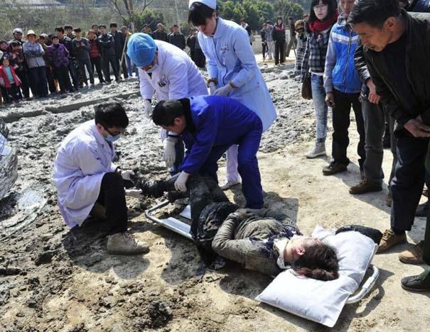 Βγήκε ζωντανή από ένα σπάνιο και τρομακτικό τροχαίο ατύχημα (5)