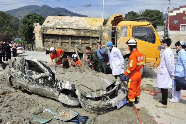 Βγήκε ζωντανή από ένα σπάνιο και τρομακτικό τροχαίο ατύχημα (9)