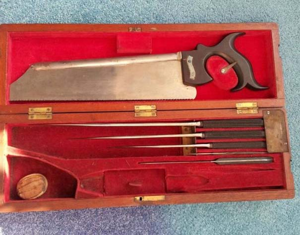 Χειρουργικά εργαλεία πολέμου από τον 19ο αιώνα (1)