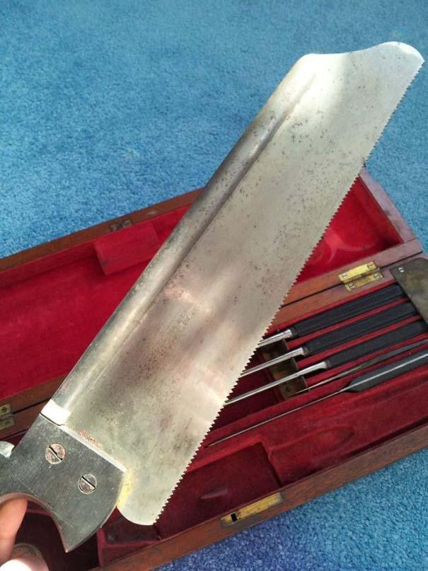 Χειρουργικά εργαλεία πολέμου από τον 19ο αιώνα (2)