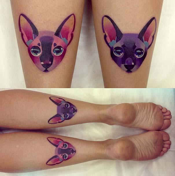 Τατουάζ με χρώμα από την Sasha Unisex (2)