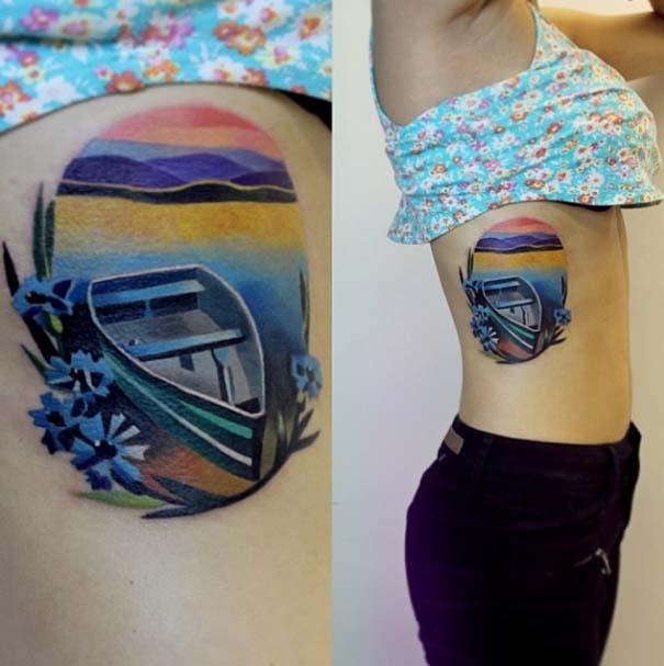 Τατουάζ με χρώμα από την Sasha Unisex (11)