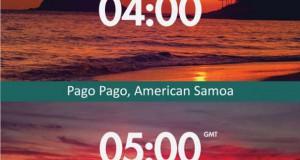 24 ώρες ηλιοβασίλεμα απ' όλο τον κόσμο