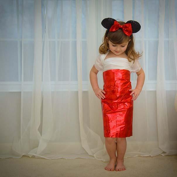 4χρονη δημιουργεί με τη μητέρα της εκπληκτικά φορέματα από χαρτί (10)