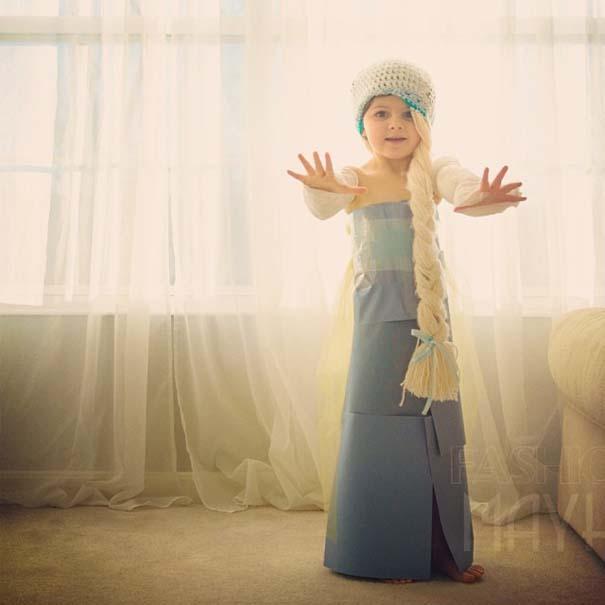 4χρονη δημιουργεί με τη μητέρα της εκπληκτικά φορέματα από χαρτί (12)