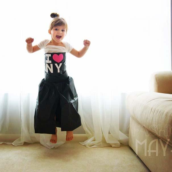 4χρονη δημιουργεί με τη μητέρα της εκπληκτικά φορέματα από χαρτί (14)