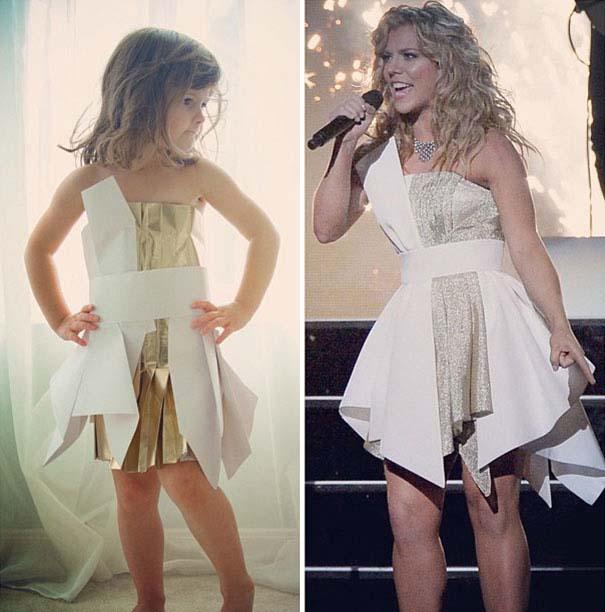 4χρονη δημιουργεί με τη μητέρα της εκπληκτικά φορέματα από χαρτί (16)