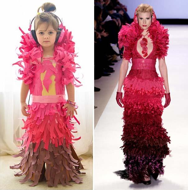 4χρονη δημιουργεί με τη μητέρα της εκπληκτικά φορέματα από χαρτί (18)