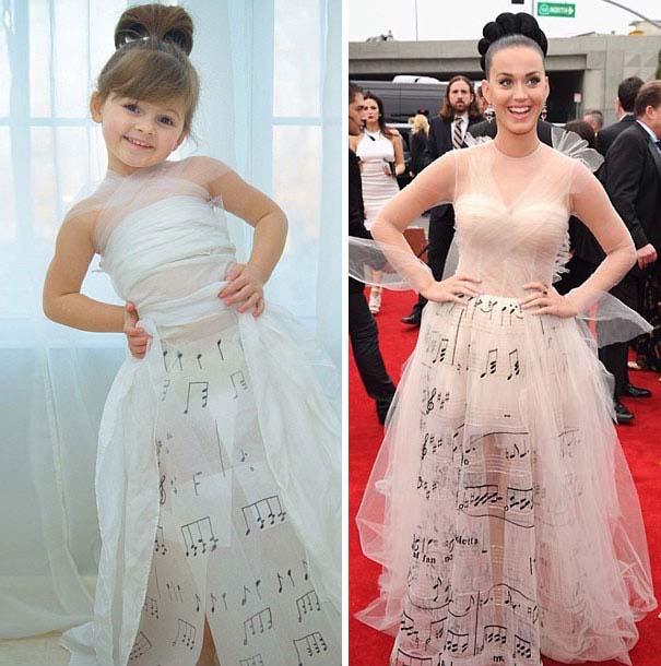 4χρονη δημιουργεί με τη μητέρα της εκπληκτικά φορέματα από χαρτί (20)
