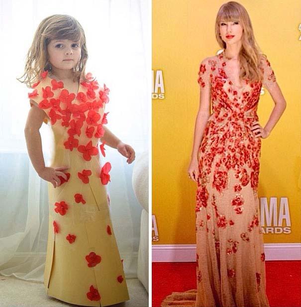 4χρονη δημιουργεί με τη μητέρα της εκπληκτικά φορέματα από χαρτί (22)