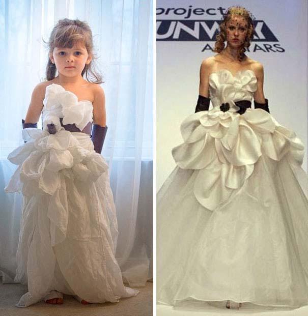 4χρονη δημιουργεί με τη μητέρα της εκπληκτικά φορέματα από χαρτί (23)