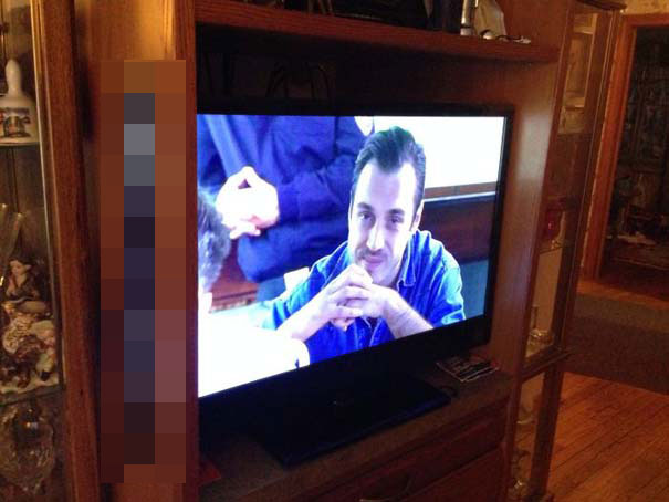 Αν η τηλεόραση δεν χωράει... (1)