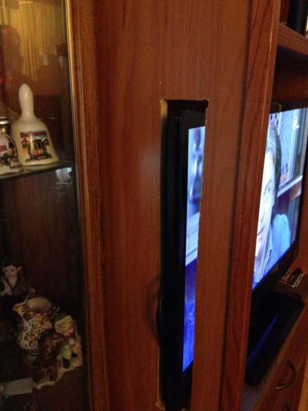 Αν η τηλεόραση δεν χωράει... (3)