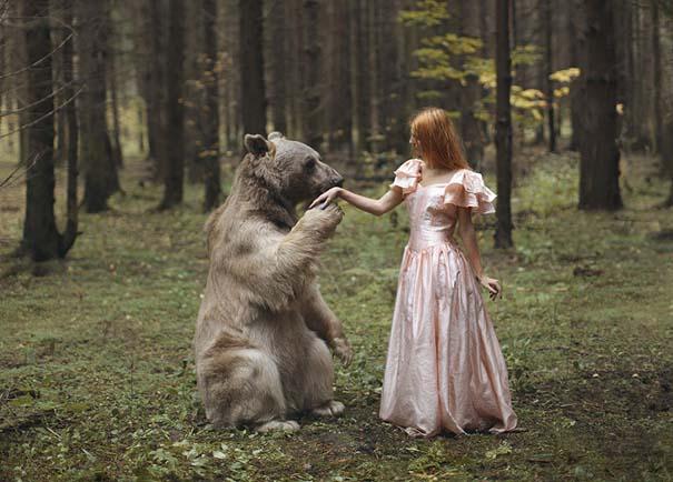 Φωτογράφος βγάζει πραγματικά απίστευτα πορτραίτα χρησιμοποιώντας αληθινά ζώα (1)