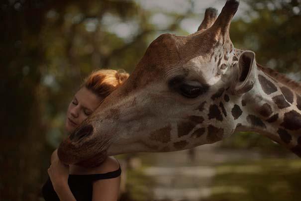 Φωτογράφος βγάζει πραγματικά απίστευτα πορτραίτα χρησιμοποιώντας αληθινά ζώα (2)