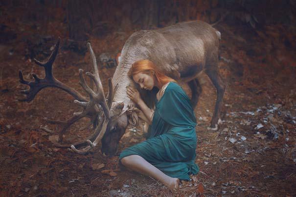 Φωτογράφος βγάζει πραγματικά απίστευτα πορτραίτα χρησιμοποιώντας αληθινά ζώα (5)