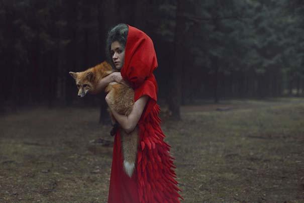 Φωτογράφος βγάζει πραγματικά απίστευτα πορτραίτα χρησιμοποιώντας αληθινά ζώα (16)