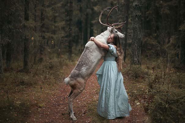 Φωτογράφος βγάζει πραγματικά απίστευτα πορτραίτα χρησιμοποιώντας αληθινά ζώα (21)