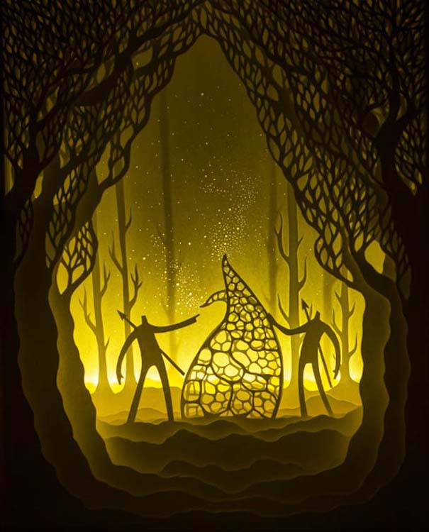 Απίστευτες δημιουργίες από χαρτί από τους Hari & Deepti (12)
