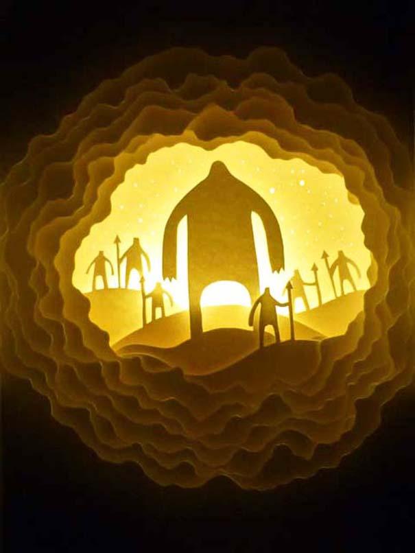 Απίστευτες δημιουργίες από χαρτί από τους Hari & Deepti (15)