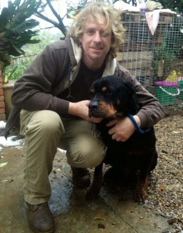Η απίστευτη μεταμόρφωση ενός Rottweiler (5)