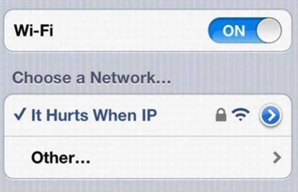 Αστεία και παράξενα ονόματα σε Wi-Fi (1)