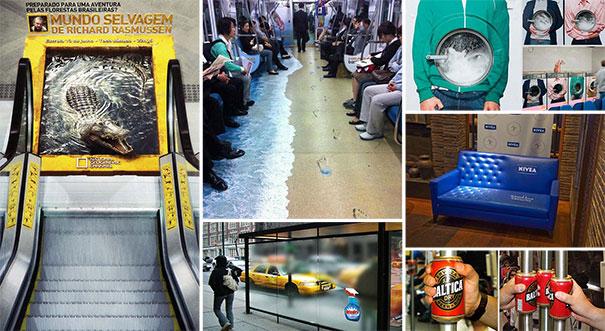 Διαφημίσεις με ιδιοφυή τοποθέτηση