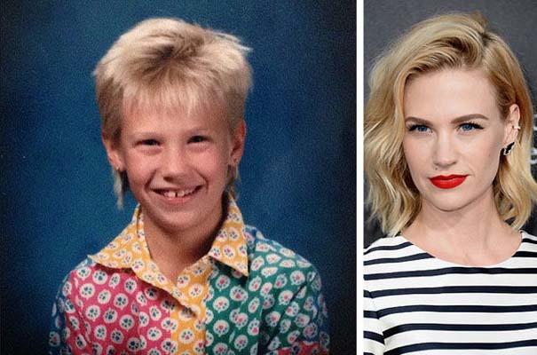 Διάσημοι σε παιδική ηλικία και τώρα (1)
