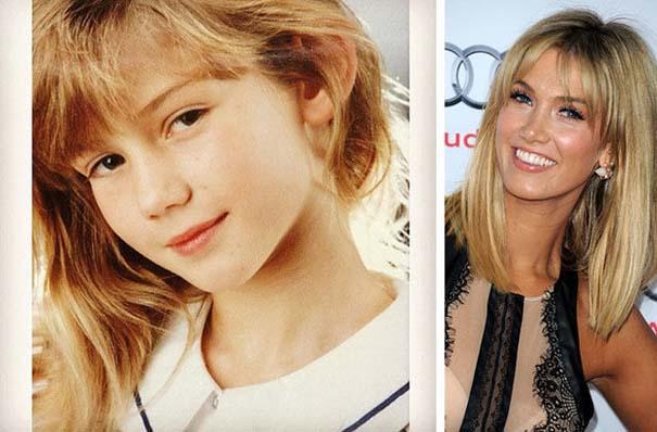 Διάσημοι σε παιδική ηλικία και τώρα (3)