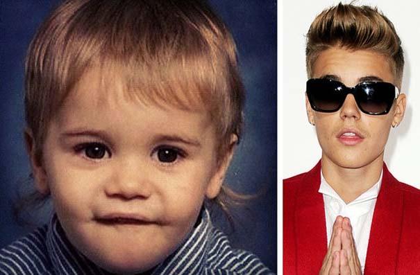 Διάσημοι σε παιδική ηλικία και τώρα (4)