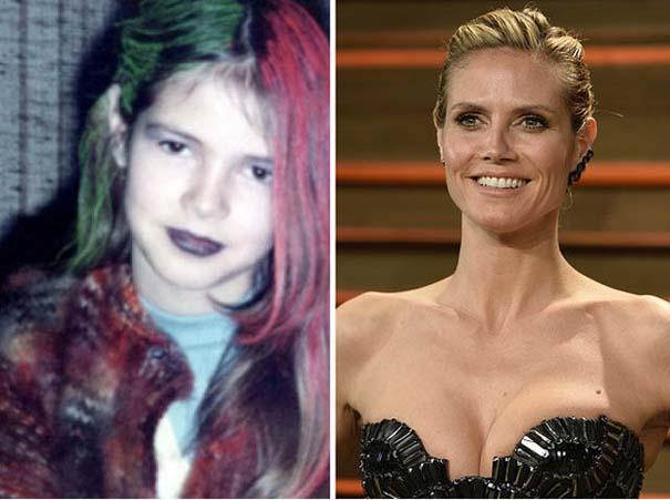 Διάσημοι σε παιδική ηλικία και τώρα (5)