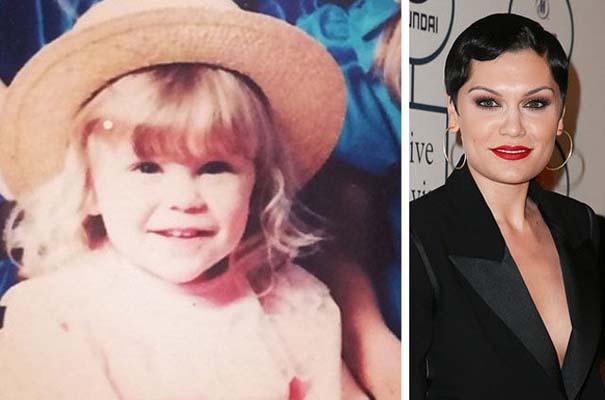Διάσημοι σε παιδική ηλικία και τώρα (6)