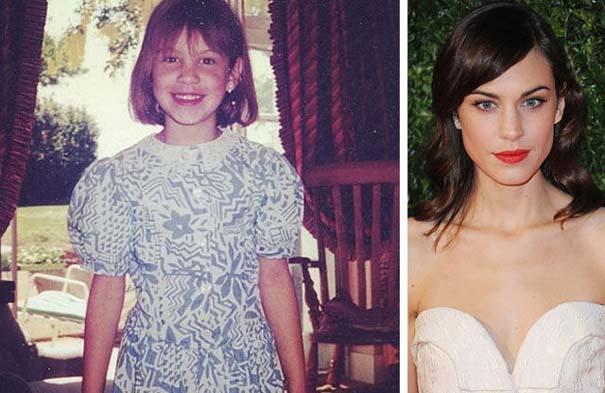 Διάσημοι σε παιδική ηλικία και τώρα (7)